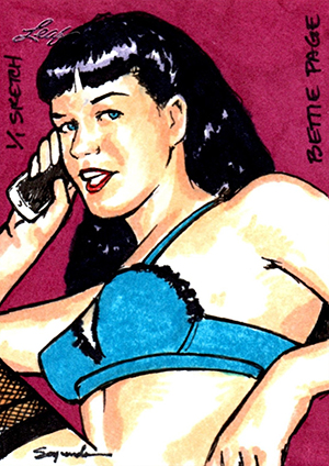2014 Leaf Bettie Page Collection Trading Cards 28