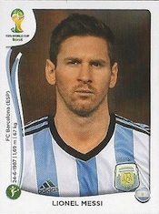 2014 Panini World Cup Lionel Messi