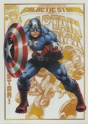 2014 Rittenhouse Marvel Universe Promo P1 General Distribution Captain America