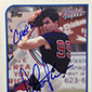 Charlie Sheen Signing Major League Autographs for 2014 Topps Archives Baseball