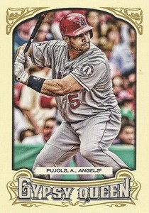 2014 Topps Gypsy Queen Reverse Image Variations Guide 74