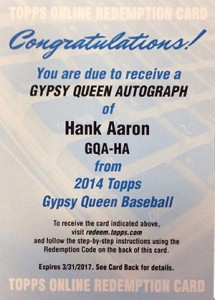 See All of the 2014 Topps Gypsy Queen Baseball Autographs 43