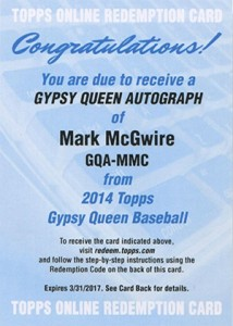 See All of the 2014 Topps Gypsy Queen Baseball Autographs 53