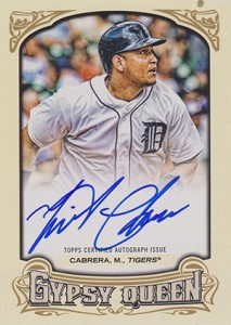 See All of the 2014 Topps Gypsy Queen Baseball Autographs 51