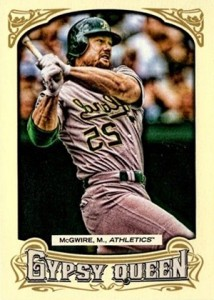 2014 Topps Gypsy Queen Variations 191 Mark McGwire