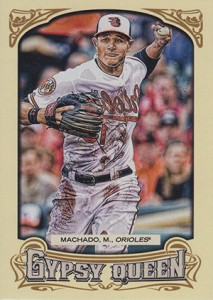 2014 Topps Gypsy Queen Reverse Image Variations Guide 63