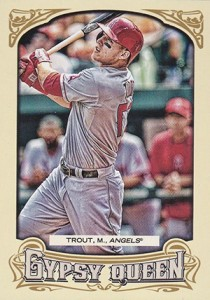2014 Topps Gypsy Queen Variations 349 Mike Trout