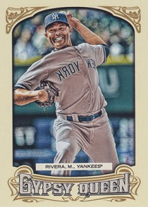 2014 Topps Gypsy Queen Reverse Image Variations Guide 13