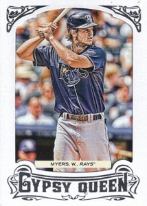 2014 Topps Gypsy Queen Reverse Image Variations Guide 16