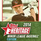 2014 Topps Heritage Minor League Baseball Cards