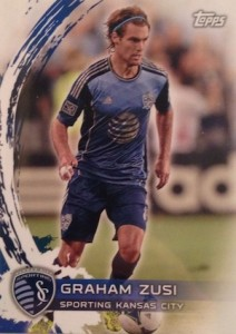 2014 Topps MLS Variation Graham Zusi Var