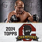 2014 Topps UFC Champions Trading Cards