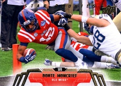 2014 Upper Deck Football Star Rookies Retail Variation Donte Moncrief