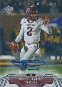 Johnny Manziel Cards, Rookie Cards, Key Early Cards and Autographed Memorabilia Guide 86
