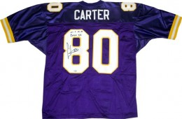 Cris Carter Cards, Rookie Cards and Autographed Memorabilia Guide 23