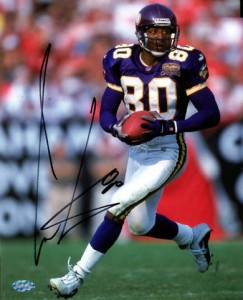 Cris carter Signed Photo
