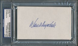 Don Drysdale Cut Signature
