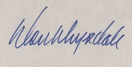 Don Drysdale Signature Example