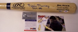 Eddie Murray Signed Bat
