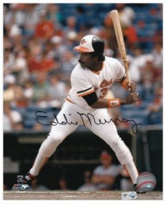 Eddie Murray Signed Photo