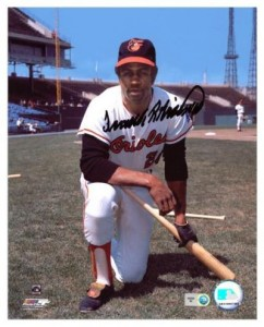 Frank Robinson Signed Photo