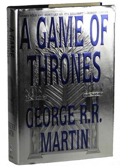 Game of Thrones First Edition Books