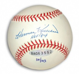 Harmon Killebrew Signed Baseball