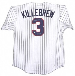 Harmon Killebrew Signed Jersey