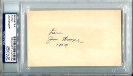 Jim Thorpe cut Signature