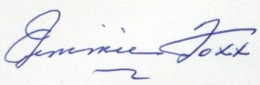 Jimmie Foxx Signature Example
