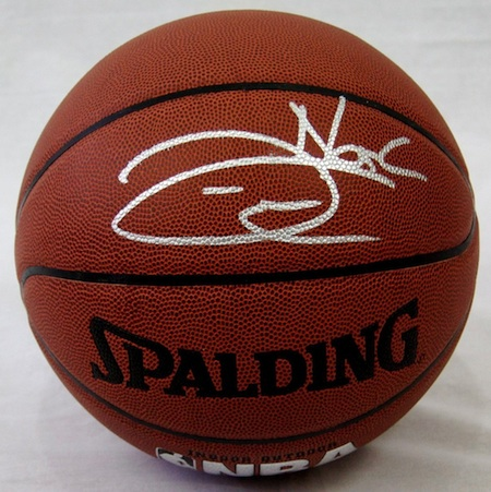 Joakim Noah Signed Basketball
