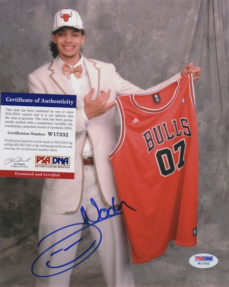 Joakim Noah Signed Photo