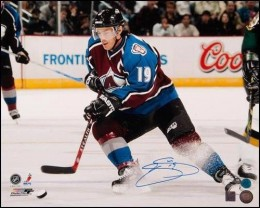 Joe Sakic Cards, Rookie Cards and Autographed Memorabilia Guide 25