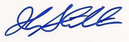 John Stockton Cut Signature