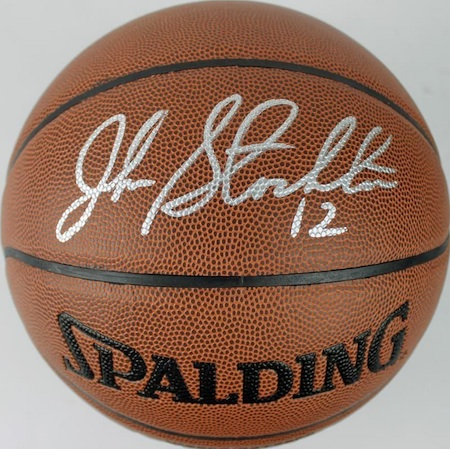 John Stockton Signed Basketball