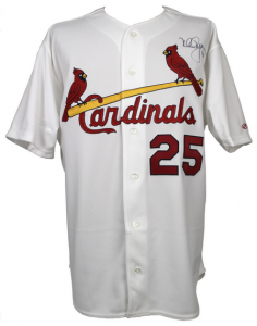 Mark McGwire signed Jersey 1