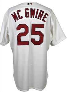 Mark McGwire signed Jersey 2