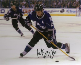 Martin St. Louis Signed Hockey Photo