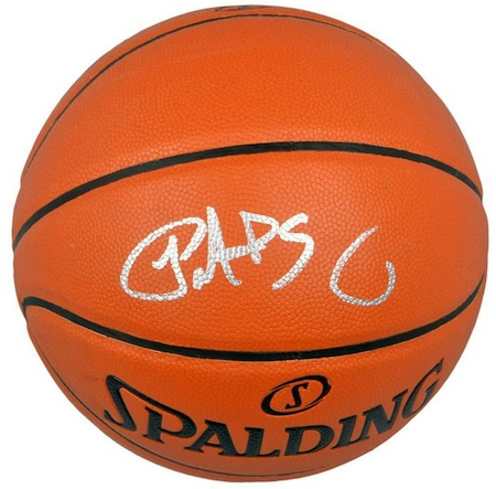 Patrick Ewing Signed Basketball