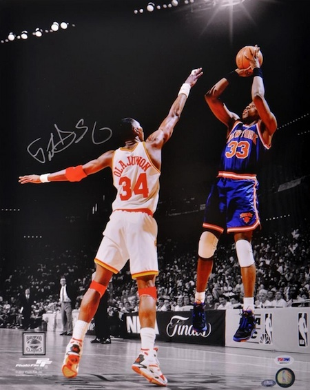 Patrick Ewing Signed Photograph