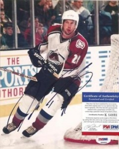 Peter Forsberg Cards, Rookie Cards and Autographed Memorabilia Guide 25