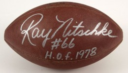 Ray Nitschke Signed Ball