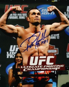 Rich Franklin Cards and Autographed Memorabilia Guide 27