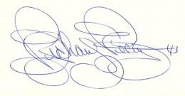 Richard Petty Signature Example