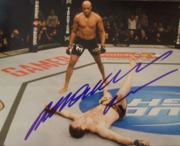 Anderson Silva Cards and Autographed Memorabilia Guide 23