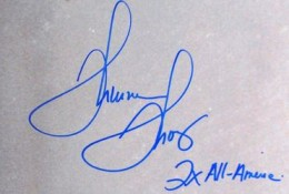Thurman Thomas Signature Example