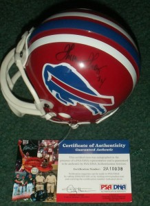 Thurman Thomas Signed Helmet