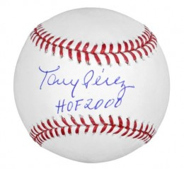 Tony Perez Signed Baseball