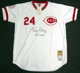 Tony Perez Signed Jersey