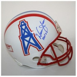 Warren Moon Signed Helmet